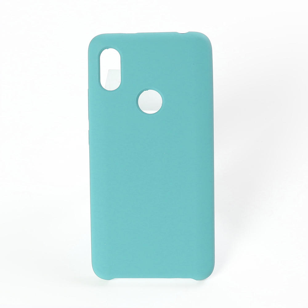 2019 New colorful Rubber Back Cover 3 side Handy silicone case For redmi note 7 Pro