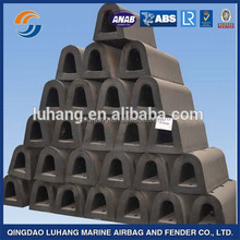 D type marine rubber fender extruded fender