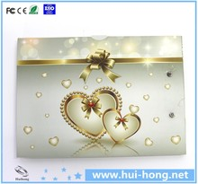 "2.4"" 4.3"" 5"" 7"" 10"" LCD Video Brochure Chinese Wedding Invitation Card"