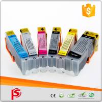 Compatible color ink cartridge for canon ink cartridge PIXMA IP7250/IP8750/IX6850/MG5450/MG5550/MG5650/ MG6350