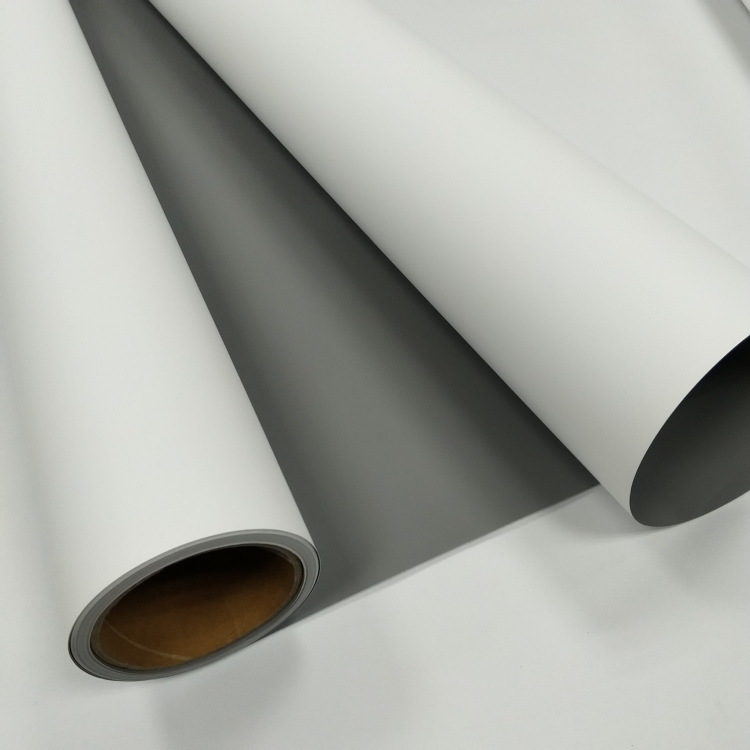 FLY New Product Eco-solvent Grey Back PP Film Matt-240, roll up material