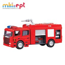 Top quality diecast mini fire truck toy 1 50 toy fire truck on sale