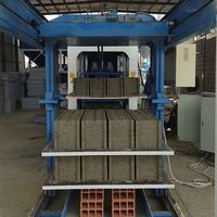 buy interlock brick machine semi automatic concrete block making machine red brick machine