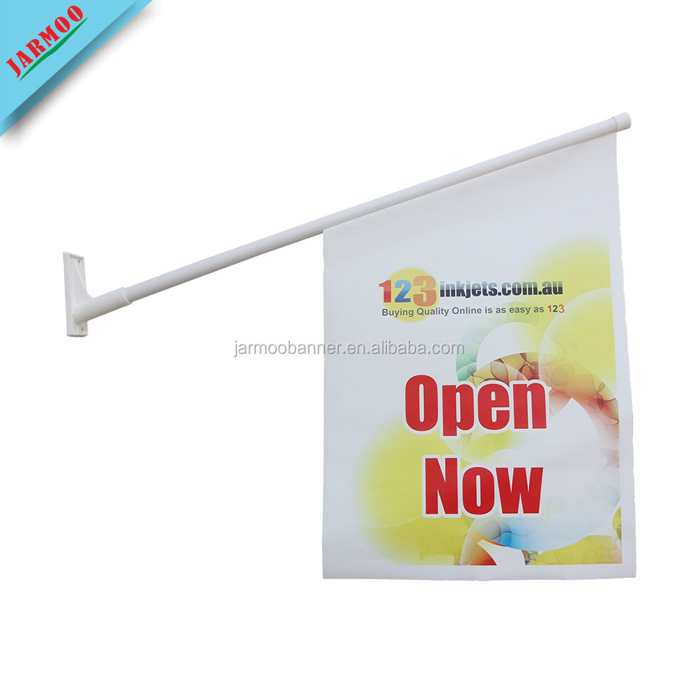 JARMOO Custom Advertising Outdoor PVC Vinyl Wall Flag