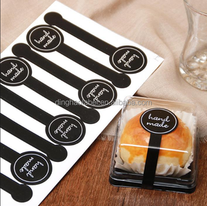 Bakery Sticker Label Baking Bag Packaging Cake Box Seal Sticker Handmade Tags Label Personalized Stickers Labels