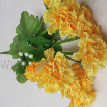 Factory direct wholesale yellow artificial carnation flowers factory direct wholesale yellow artificial carnation flowers artificial carnations mightylinksfo