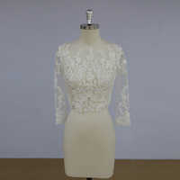 Beautiful alibaba wholesale wedding accessaries bridal bolero lace jacket