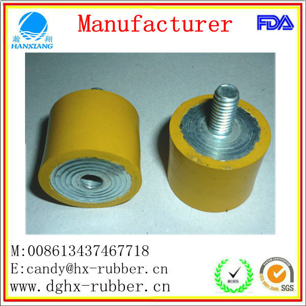 pressure resistance Metal Overmold Rubber Parts