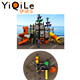 Cool digital playground pirates colorful amusement park machine showy kids play area