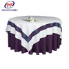 factory elegant linen look tablecloth for christmas design