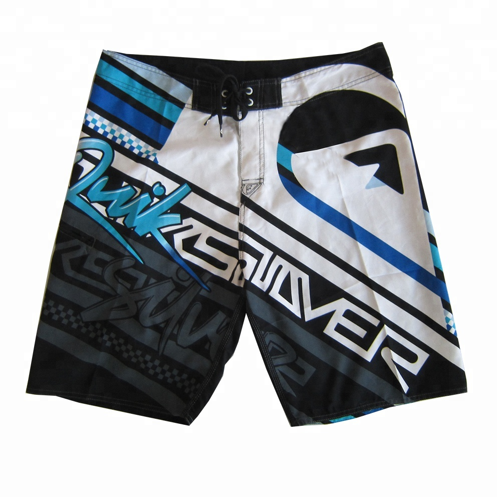 custom sublimation printing quality surf board shorts