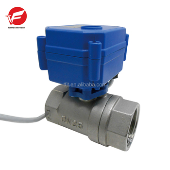 CWX-15Q solenoid two way ball valve 1/2'' 3/4'' brass/Stainless Steel valve with electric actuator ball valveCE and ISO approved