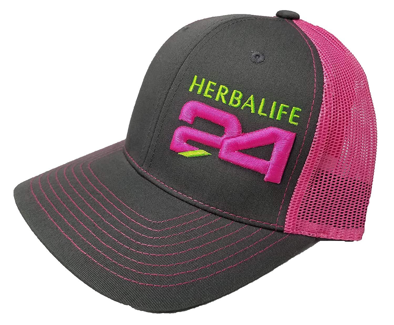 Get Quotations · Richardson 3D Puff Herbalife 24FIT Hat Cap Snapback  Adjustable Adult Unisex 8cf86692544a