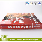 a4 size softcover school textbook printing cheap college text book