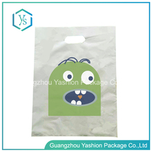 Wholesale Heavy Duty Biodegradable Customized Logo Shopping Die Cut Plastic Bag