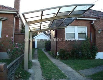 Polycarbonate Roofing Sheet For Patio Cover Japanese Carport
