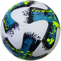 Customized Printed Official Size 5 Laminated Soccer Ball High Quality PVC PU Football Futbol Futsal