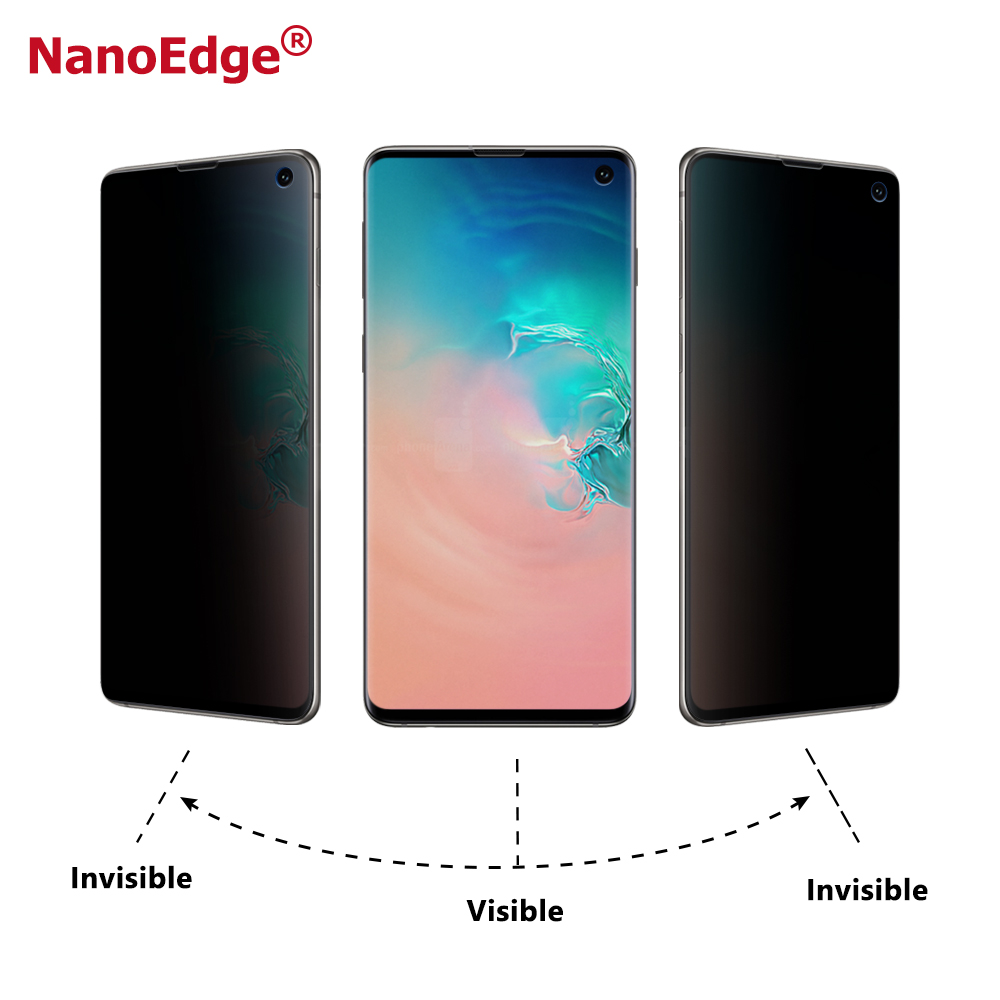 Galaxy S10 S10 Plus Mobile Phones Privacy Filter 3D Screen Guard Privacy Screen Protector For Samsung S10 S10+