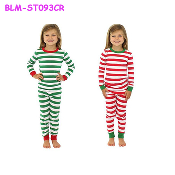 christmas sales wholesale matching family pajamas kids cotton christmas pajamas family green striped pajamas made in - Wholesale Christmas Pajamas
