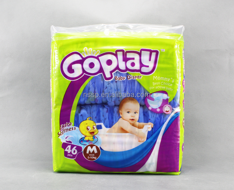 22 Years Manufacturers Maxi Size Baby Diaper Sales in Turkey & Spain Market (WB003)