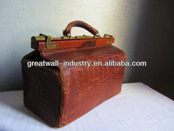 Leather Vintage Doctors Bag Men