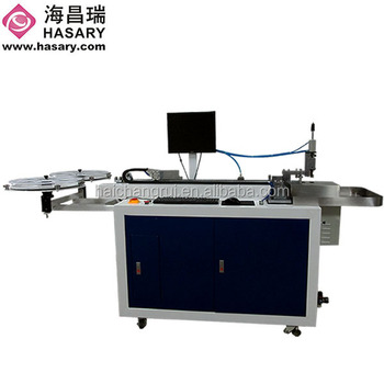 Super march discount HLB23 steel rule bending machine/auto bender machine for die cutting