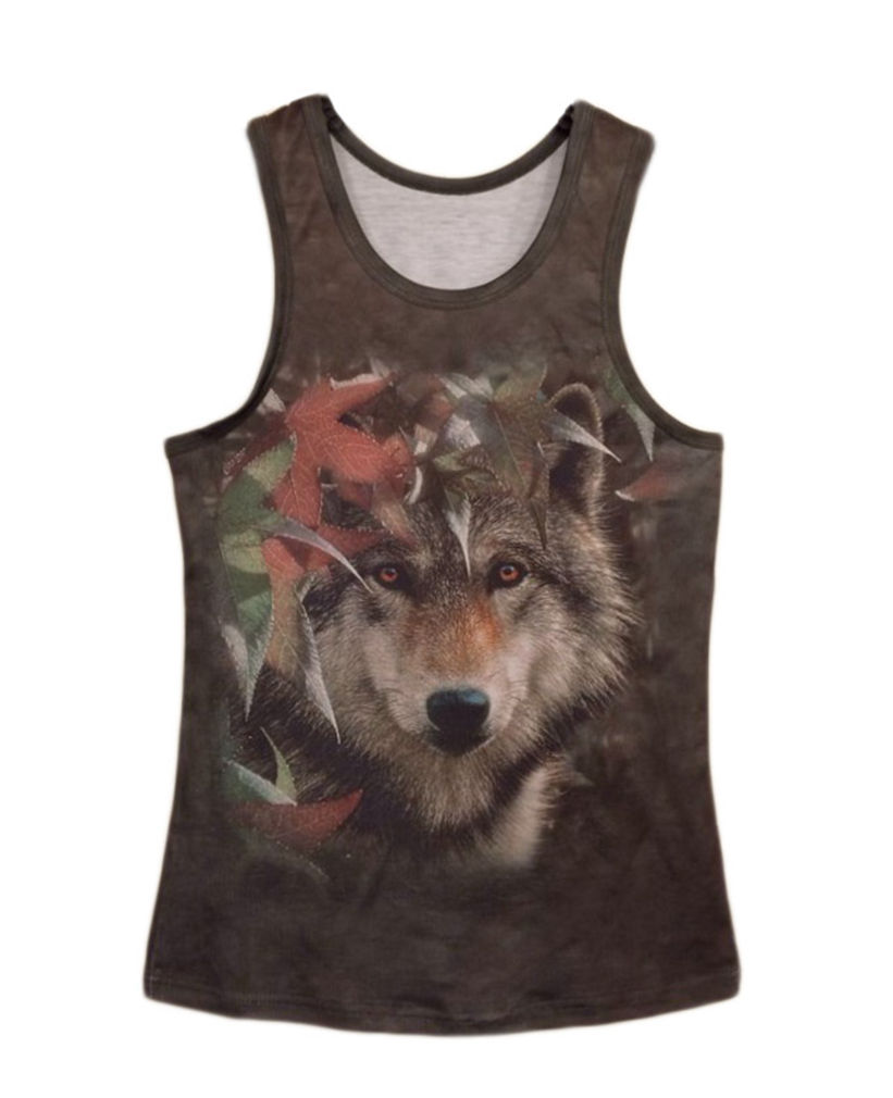 Professional for Men Women 3D Maple Dog Vest Hip Hop Animal Big Face Tank Top Unisex Custom Muscle Sleeveless Tank T Shirt