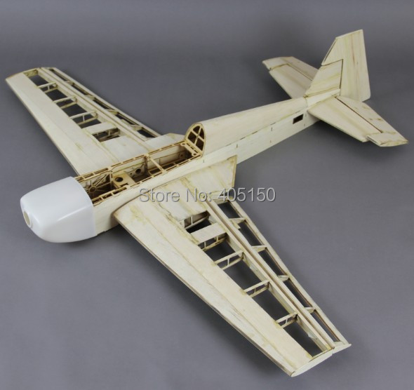 40 50c Nitro Rc Plane Unassmbled Balsa Kit Without Cover
