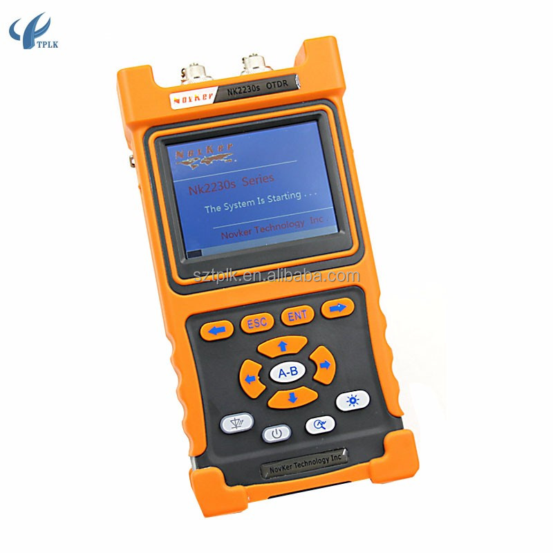 Latest NK2230S OTDR optical time-domain reflectometer OTDR fiber optic fiber fault detector tester 30dB 0-90KM