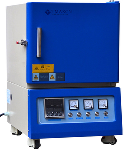 1800 degree heat treatment lab muffle furnace for sintering ceramics zirconia parts
