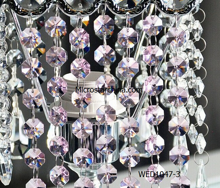 IN STOCK 14mm hanging crystal Beaded Curtains for wedding and party decoration