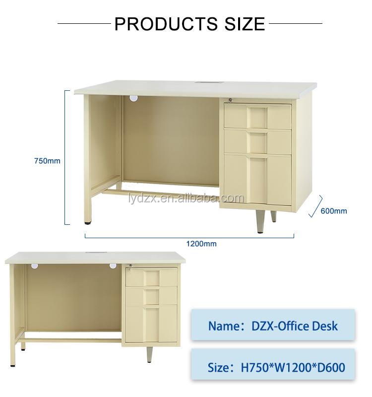 Современный Стальной офисный стол мебель из металла исполнительный офисный стол дизайн