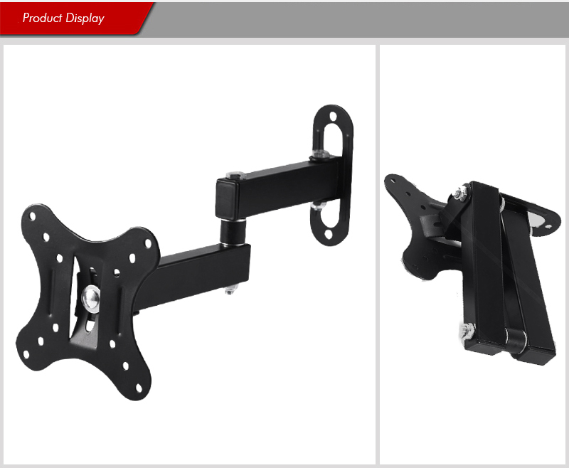 14&quot;-27&quot; Inch LCD LED <strong>TV</strong> Monitor Wall Mount <strong>Bracket</strong> Tilt <strong>Swivel</strong> Flat Panel Screen <strong>Bracket</strong>