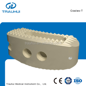 TLIF Peek Fusion Cage 12*30 Titanium Mesh Orthopedic Spine implants Fusion device for thoracic lumbar cervical fixation
