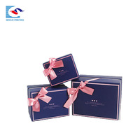 Luxury cardboard paper box for candy chocolate cosmetic gift candle packaging