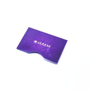 rfid blocking card sleeve plastic id card sleeves - Business Card Sleeves