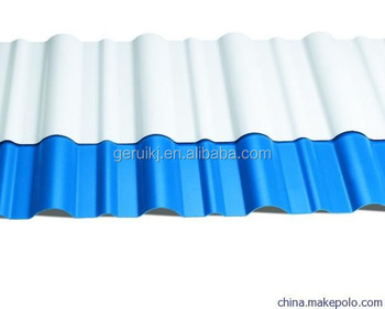 Plastic Corrugated Roof Sheet Plate Production Machine