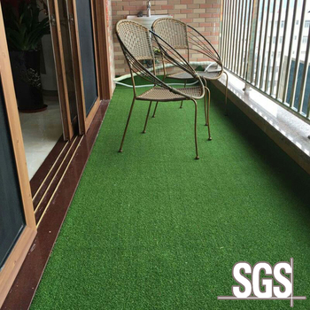 Durable Natural Green Balcony Landscape Artificial Gr Synthetic Lawn