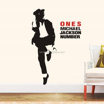 Wall Art Dancing Michael Jackson Wall Sticker - Buy Islamic Wall Art ...