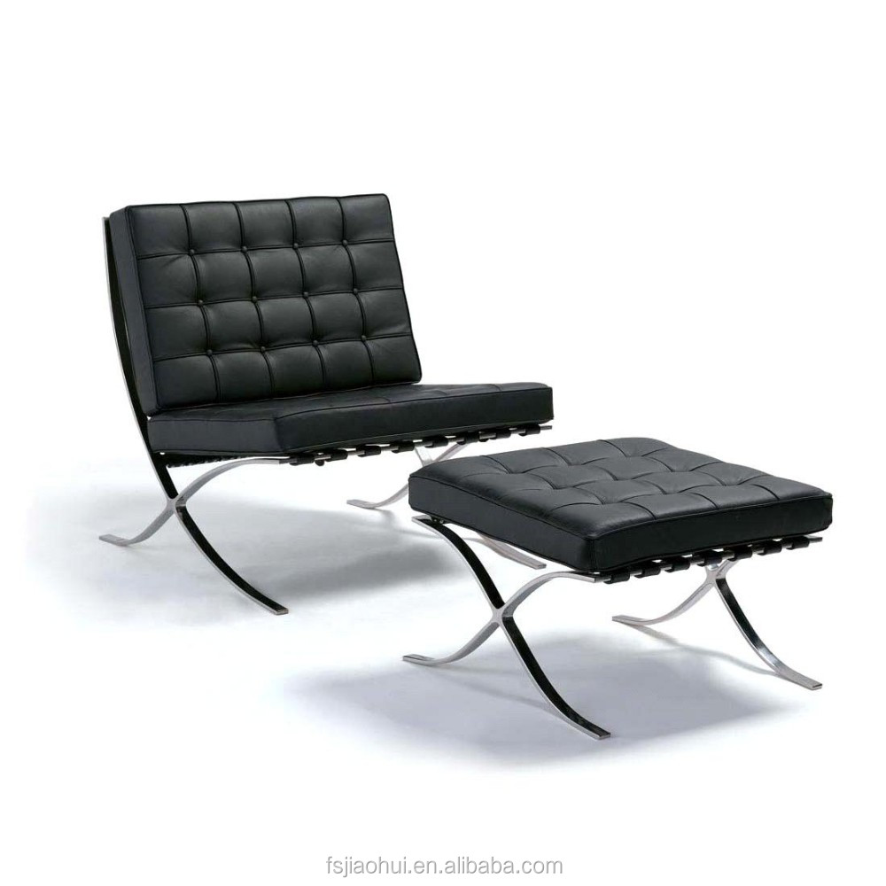 Designer mies van der rohe barcelona chair for sale buy for Mies van der rohe replica