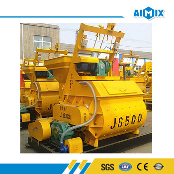 China top quality JS500 hydraulic electric cement mixer for sale