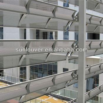 Aluminum Exterior Perforated Louver Aluminium Sunshade