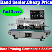 Auto Date Several Lines Printing Automatic Band Sealer for Sale,Horizontal Plastic Automatic Band Sealer Machine With Best Price