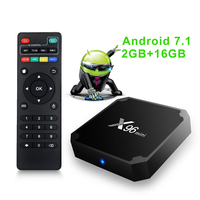 2019 New Hd 1080P Video 1GB 8GB Smart 7 TVBOX Firmware Update S905W 4K X96 Mini Android 7.1 Tv Box