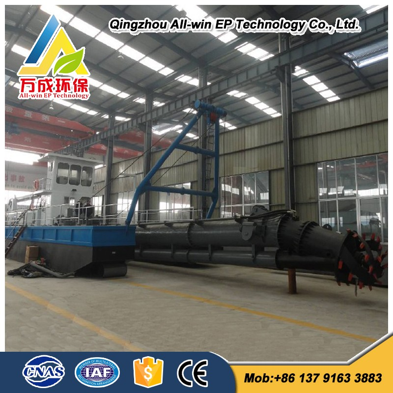 All-hydraulic used river sand Cutter Suction Dredger for dredging