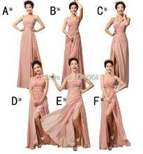 Barato personalizado! Mix estilo dividir Vestidos dama de honra vestido de casamento cores, Vestidos de baile vestido de festa