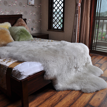 Artificial Wool Sheepskin Hairy Carpet Faux Floor Mat Fur Plain Fluffy Soft Area Rug Tapetes Love Heart Rug