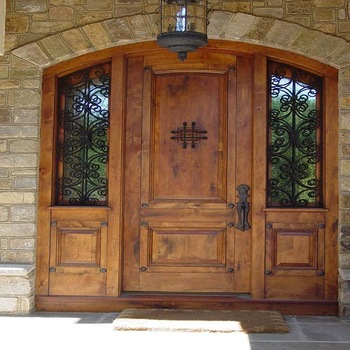 teak wood double door design images  | 350 x 350