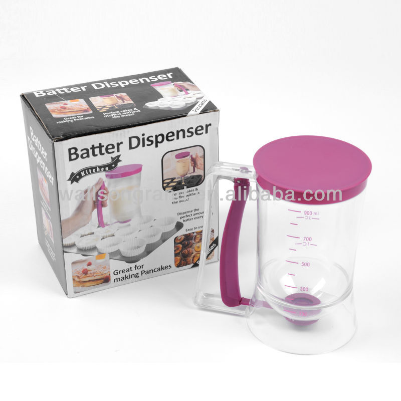 Plastic Pancake Cupcake Batter Dispenser
