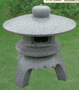 Garden Granite Lamp post